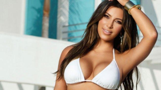 """Kim lamenta su """"gordura"""" en bikini"""