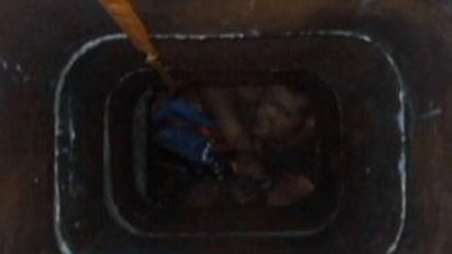 Ladrón quedó atrapado en chimenea