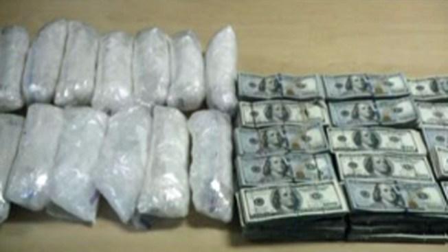 Confiscan 500 libras de metanfetaminas