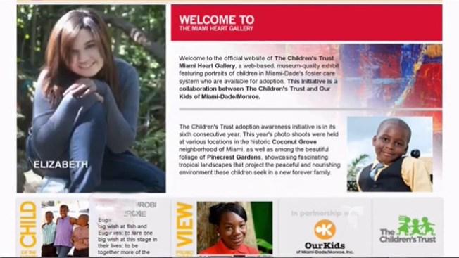 Sitio web al rescate de niños huérfanos