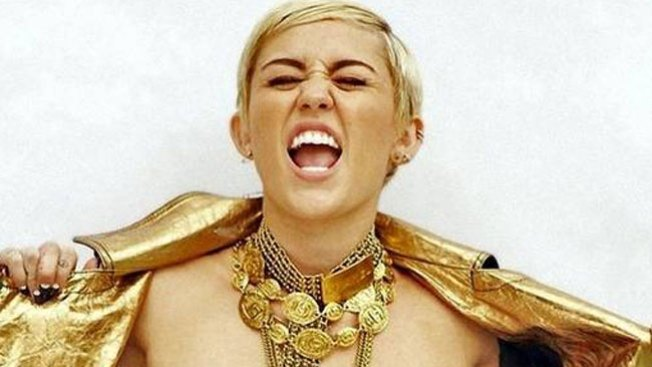 La foto más horrorosa de Miley Cyrus