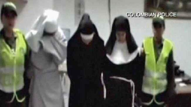En lugar de rezar, ¡traficaban cocaína!