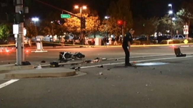Muere motociclista escapando de la policía