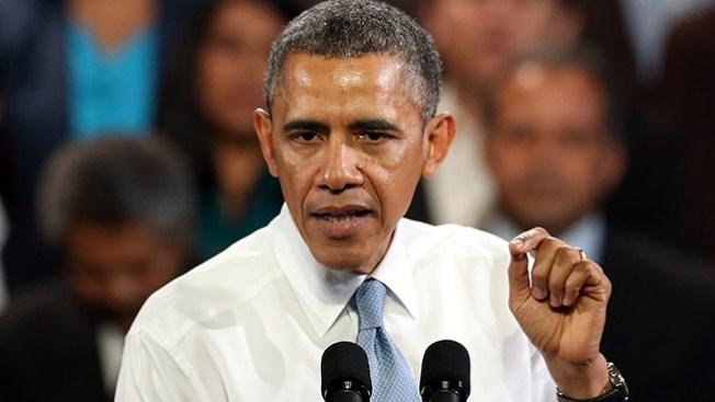 Joven interrumpe discurso de Obama