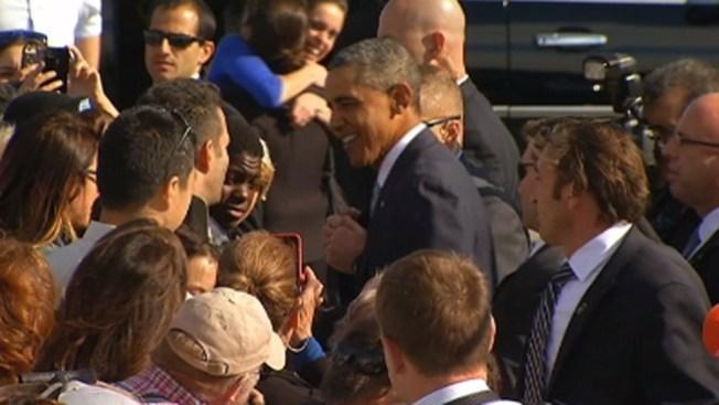 Llega Obama a San Francisco