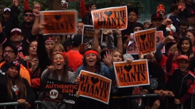 San Francisco a celebrar a los Gigantes
