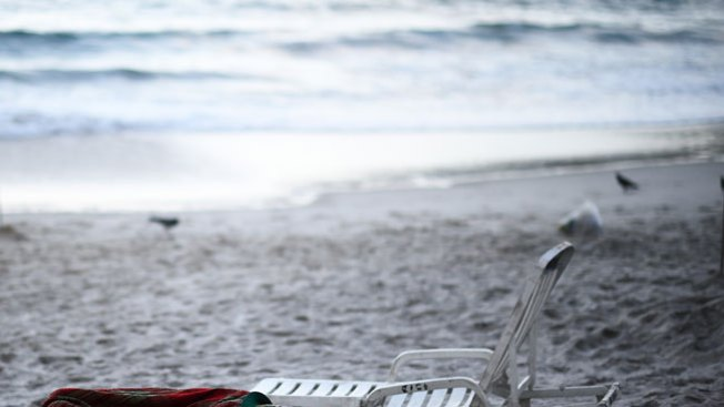 Un rayo mata a joven en plena playa