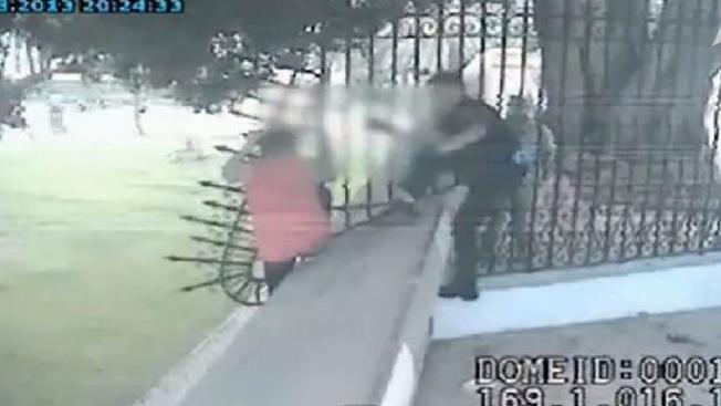 Policía salva a mujer del suicidio