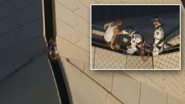 Tremendo rescate en la Ópera de Sídney