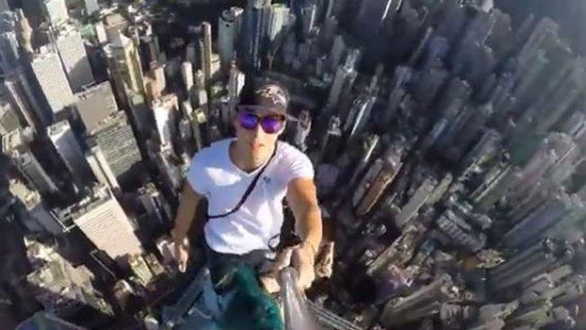 El selfie más peligroso del mundo