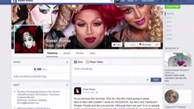 """Facebook se disculpa con """"drag queens"""""""