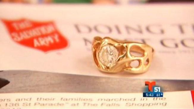 Donante anónimo regala diamante