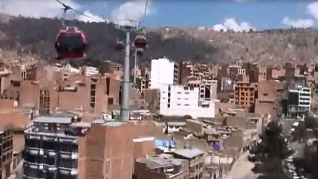 Bolivia: el teleférico más alto del mundo