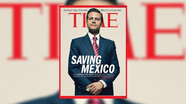 Enrique Peña Nieto en portada de Time