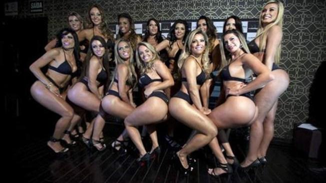 Eligen el mejor trasero de Brasil 2011