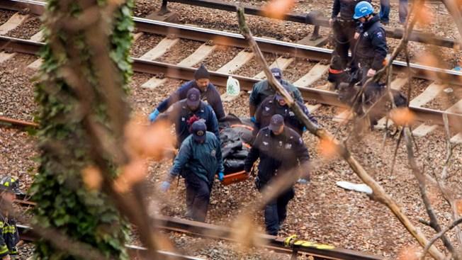 Identifican a víctimas del tren de NY