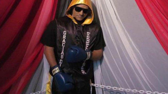 Macabro velatorio de boxeador boricua