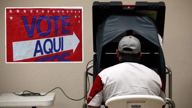 Centros de registro de votación en el Área de la Bahía