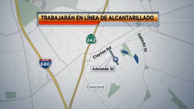 Concord: construcción afectará tránsito