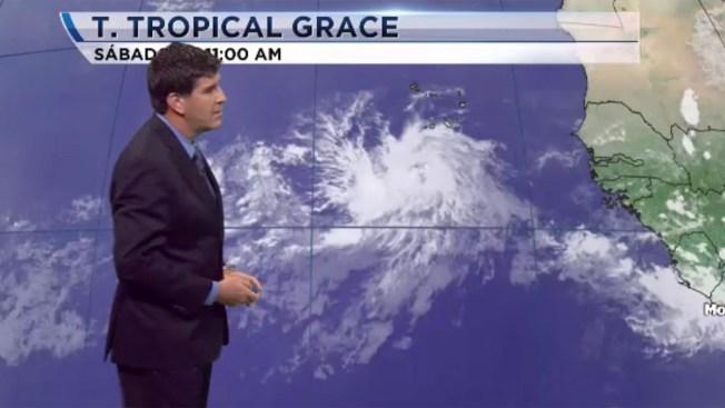Se forma la tormenta tropical Grace