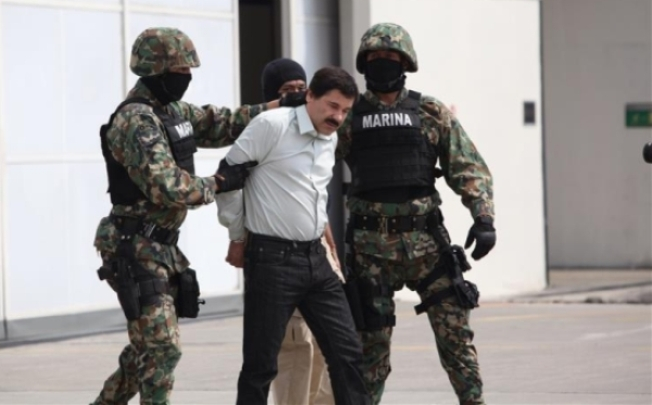 """Presentan cargos contra """"El Chapo"""""""