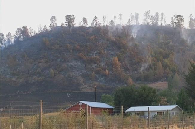 Fuego en Napa mayormente controlado