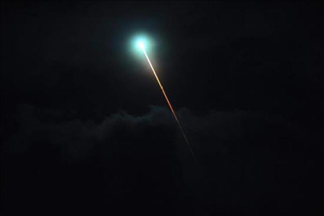 Argentina: Avistan misteriosa luz verde nocturna