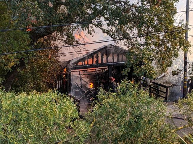 Incendio en San Anselmo no deja heridos