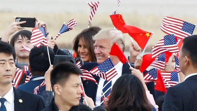 Trump llega a China en visita clave sobre Corea del Norte