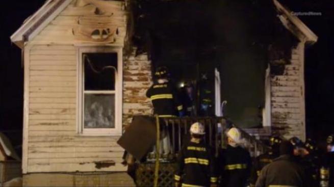 Mueren tres niños en un incendio