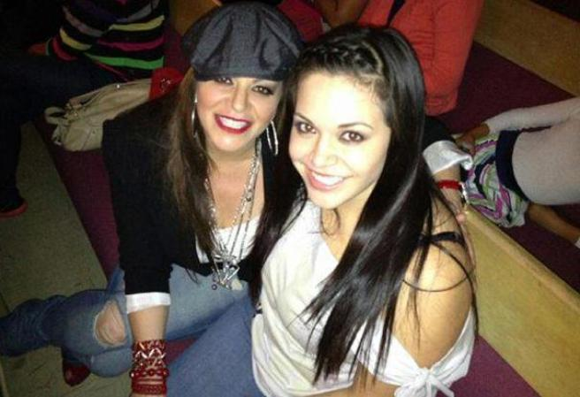 Hijas de Lupillo Rivera Jenni Rivera y su Hija Jacqui