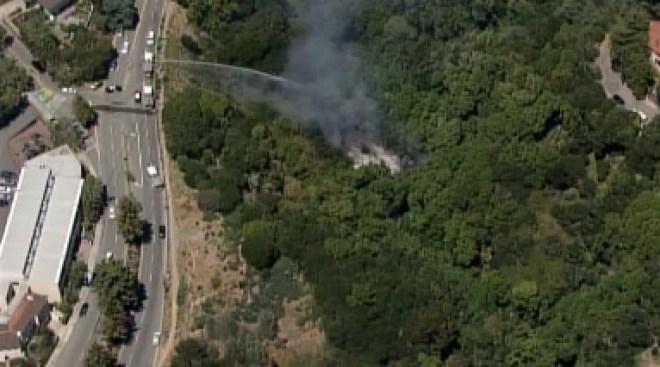 Sospechosos 5 incendios en Oakland